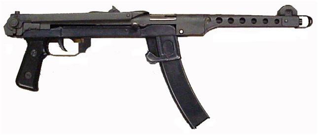 Pistola mitragliatrice russa ppsh42 43 armi russe tutte le armi